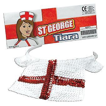 Bnov Inglaterra St George Sequin Tiara