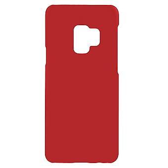 Samsung Galaxy S9 Shell z twardego plastiku - Czerwony