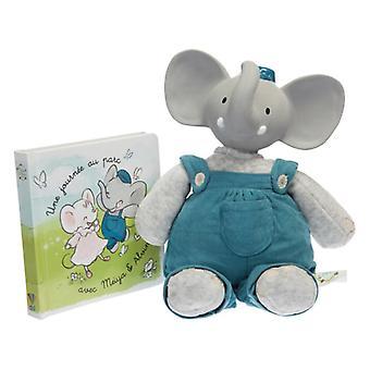 Schildkröt Großes Geschenkset Alvin der Elefant Kuscheltier + Buch