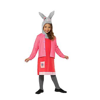 Peter Rabbit, Lily Bobtail Deluxe Costume, Peter Rabbit TV, Toddler Age 1-2