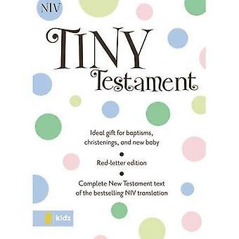 Tiny Testament Bijbel-NIV