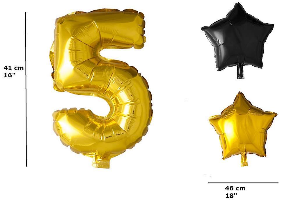 50 års födelsedagsballongkit