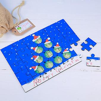 Sprouts Illustrated Wooden Jigsaw