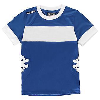 Kappa jongens Remilio korte mouw T Shirt Junior T-Shirt Tee bemanning Top Kids