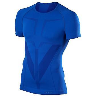 Falke Tight Fit chemise à manches courtes - Yve bleu