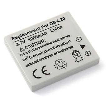 Батарея для Sanyo Xacti DBL20 DB-L20 dmx-ca9 dmx-hd2000 dmx-ca8 dmx-cg9 sanyo xacti e1 dmx-ca65