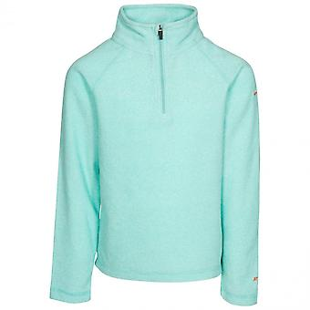 Trespass Girls Meadows AT100 Airtrap Half Zip Fleece Top