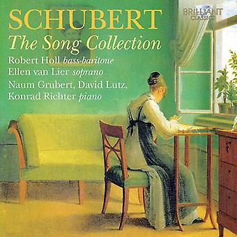 Schubert / Holl / Van Lier / Lutz / Grubert / Rich - Song Collection [CD] USA import