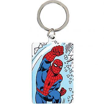 Marvel Comics en métal Keyring Spider-Man