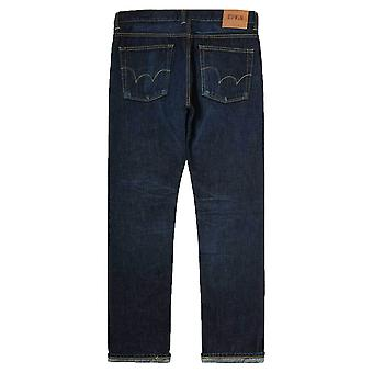 Edwin Classic Tapered Regular Jeans Nihon Menpu Rainbow Selvage Japan Denim Dark gebruikt