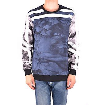 Les Hommes Urban Ezbc260003 Men's Multicolor Cotton Sweater