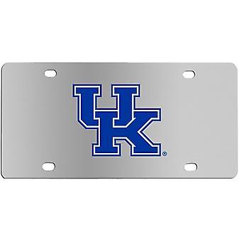 Kentucky Wildcats NCAA Steel License Plate