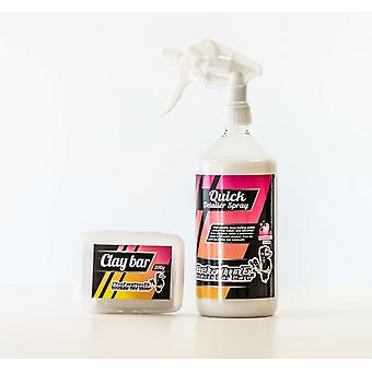 Clay Bar & 1L Quick Detailer Spray Kit by Detailing Addicts