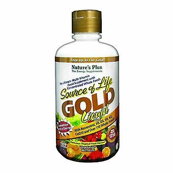 Nature's Plus Fuente de Vida Oro Multi Vitamina Líquida 887ml (30701)
