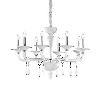 Ideale Lux Miramare 8 lamp hanglamp