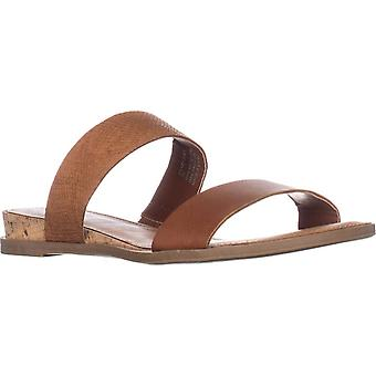 American Rag Womens Easten Leather Open Toe Casual Slide Sandals