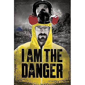 Poster - Studio B - Breaking Bad - I am the Danger 36x24