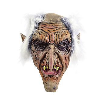 Bristol Novelty Unisex Adults Rubber Goblin Mask