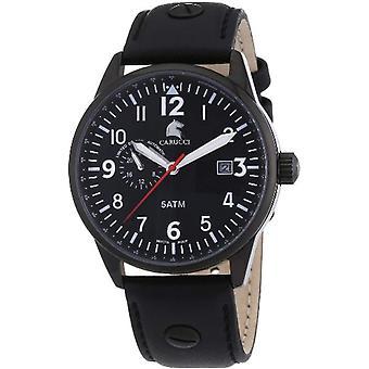 Carucci Horloge Man arbitre. CA2180BK-BK