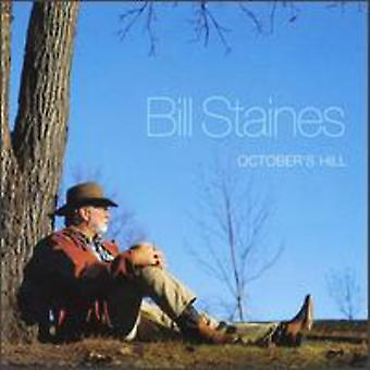 Bill Staines - October's Hill [CD] USA import