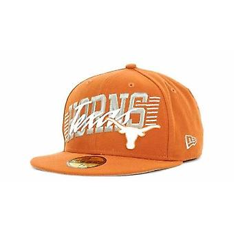 Texas Longhorns NCAA New Era 59Fifty Fitted