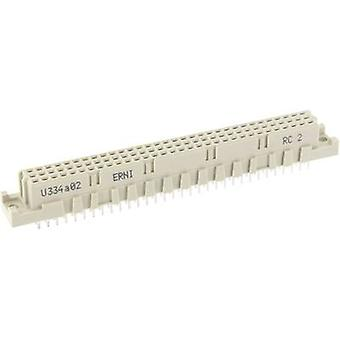 ERNI 224470 Edge connector (sockets) Total number of pins 96 No. of rows 3 1 pc(s)