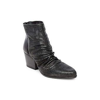 Steven by Steve Madden Womens Romey Fabric Pointed Toe Ankle Fashion Boots