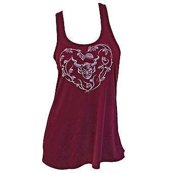 Stone Brewing Co. Girly Forevermore Burgundy Tank Top