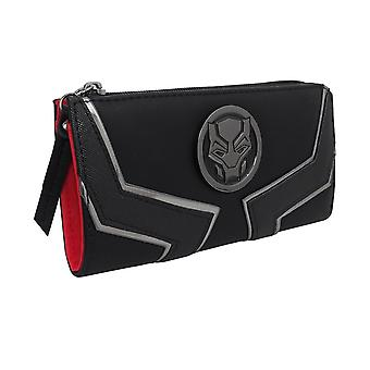 Black Panther Film Logo Frauen's Zip um Brieftasche