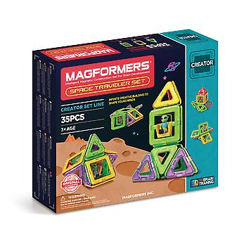 Magformers Space Traveler Magnetic Toy Set - Educational Toys
