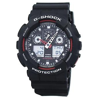 Casio G-shock Velocity Indicator Alarm Ga-100-1a4 Ga100-1a4 Men's Watch