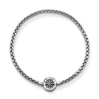 Thomas Sabo Karma Boncuk - Unisex - Bilezik - Gümüş 925 Niellato