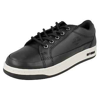 Mens Harley-Davidson Leather Trainers Jez D93133