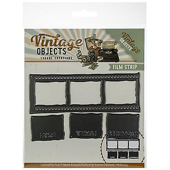 Find It Trading Yvonne Creations Die-Film Strip, Vintage Objects