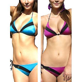 St Tropez Halterneck Bikini Set Top & Bottoms
