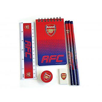 Arsenal FC Fade 7 Piece Stationery Set
