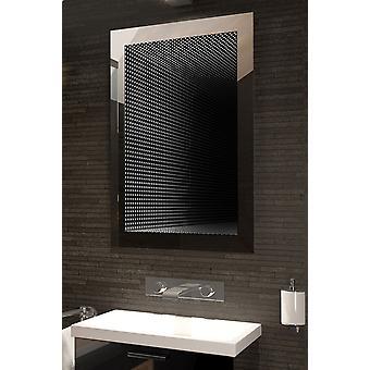 Reflet parfait Rgb LED salle de bains Infinity miroir K216vRgb