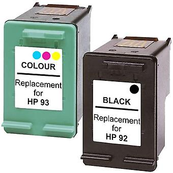 92 Remanufactured Inkjet Cartridge Set 1 and 2 Cartridges