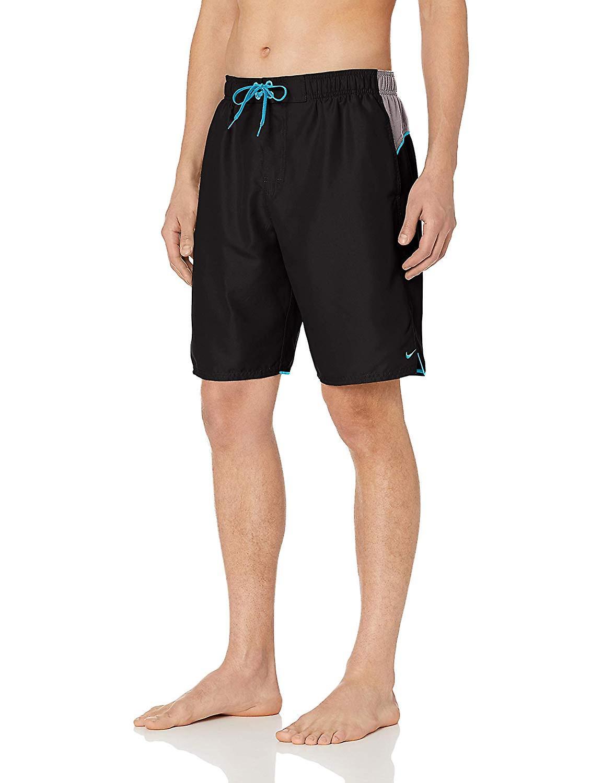 Nike Swim Womens Solid Boyleg Shorts Black