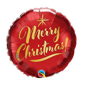 Qualatex Christmas Foil Balloon