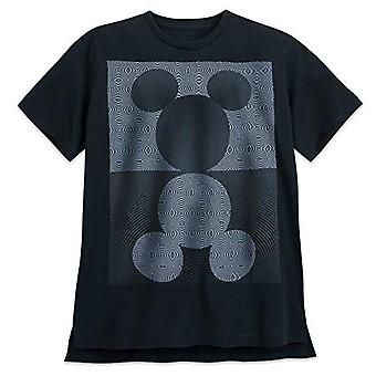 Disney Mickey Mouse Mirror Image T-Shirt for Men Size Mens, Multi, Size X-Large