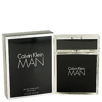 Calvin Klein Man Eau De Toilette Spray By Calvin Klein   443320 50 ml