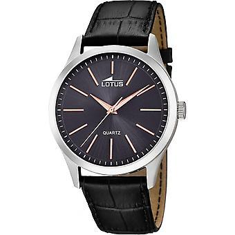 Lotus minimalistisk L15961-8 watch - Klocka Quartz Black man