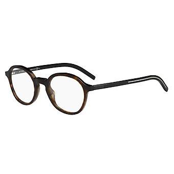 Dior Homme Blacktie234 581 Havana-Black Glasses