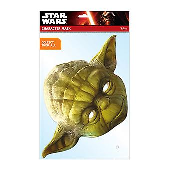 Yoda Oficial Star Wars Card Party Fancy Dress Mask