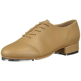 Leo Womens Jazz Tap Leather Low Top Lace Up Ballet & Dance Shoes