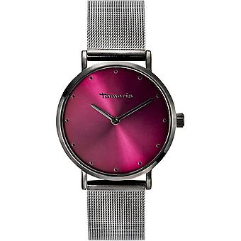 Tamaris - Wristwatch - Anda - DAU 36mm - Grey - Ladies - TW003 - Grey Wine Red