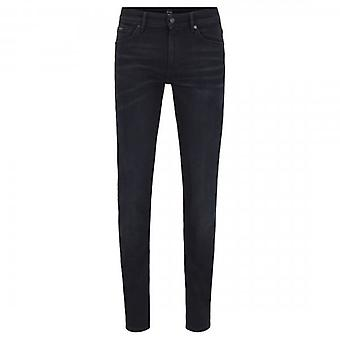 Hugo Boss Charleston Black Washed Extra Slim Jeans 003 50423323