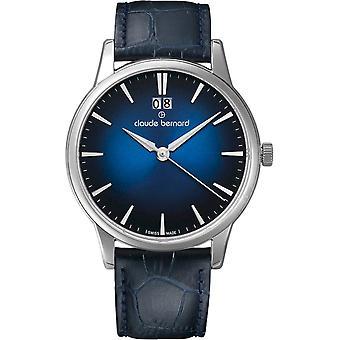 Claude Bernard - Horloge - Mannen - Classic Gents - 63003 3 BUIN1