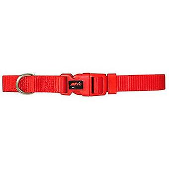 Nayeco Basic Dog Collar Red Size M (Dogs , Collars, Leads and Harnesses , Collars)